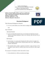 Educational Misalignment .2.docx