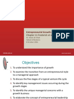 Growth  Exit Strategies