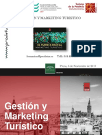 DOSSIER Gestion y Marketing Turistico Prodetur