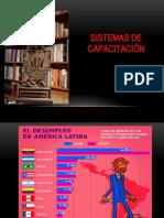 SSTEMAS DE CAPACITACIÓN