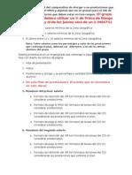 Instructivo para la presentación del trabajo individual