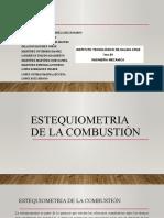 ESTEQUIOMETRIA DE LA COMBUSTIÓN2.pptx