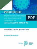 Protocolo COVID-19 27 ABRIL