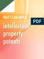 Patent_Law_Exam_Notes