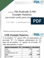 10 - LNR - Apresentação - Investida vende para Investidora