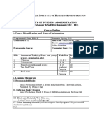 Course Outline SP and SD (SSC-103)