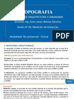 SESIÓN 03 - MEDICION DE DISTANCIAS.pptx