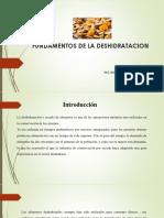 FUNDAMENTOS DE LA DESHIDRATACION