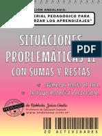 Cuadernillo SITUACIONES PROBLEMÁTICAS II Con Sumas y Restas Hasta El 100