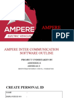 AMPERE software outlook