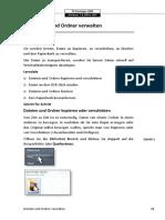 6. Dateien und Ordner verwalten