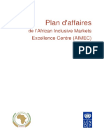 AIMEC Business Plan French