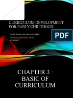 CHAPTER 3  BASIC CURRICULUM