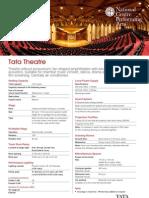 NCPA Tata theatre data