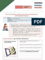 FICHA DE AUTOAPRENDIZAJE PERSONAL SOCIAL SESION EVALUACIÓN PRIMER GRADO (1) (2) perosnal social