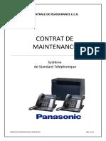 Projet de Contrat de maintenance PABX CCR Ouled Fayet