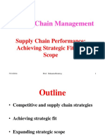 Ch 2 - Achieving Strategic Fit and Scope