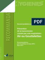 2013 Air Gouttelettes