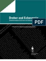 Dreher and Echeverria