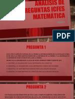 ANÁLISIS DE PREGUNTAS ICFES MATEMÁTICA PERIODO 4