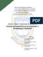 teoria de Vigotsky y desarrollo proximo