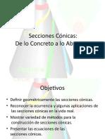 SECCIONES CONICAS