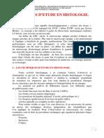 1er cour ( méthode d_étude en histologie)