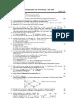 Data communication and networking - sem 8 - Elex - MU