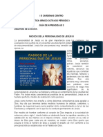 RASGOS DE LA PERSONALIDAD DE JESÚS III (1)