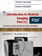 1. Y3. INTRODUCTION TO MEDICAL IMAGING. part 1.ppt