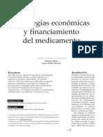 2015 - Tobar y Garraza - Estrategia económica y financiamiento de medicamentos