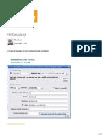 NetCalculator - CodeProject