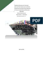 DIN - Taller Seguridad y Orden Interno