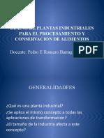Generalidades del diseño de planta