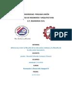 trabajo de FORMACION Y DESARROLLO