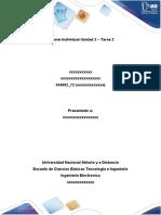 Informe Individual Unidad 2 Tarea 2