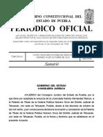 Renuncia a patente notaria 11 de Tehuacán