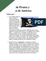 Galería de Piratas y Bandidos de América TALLER 8