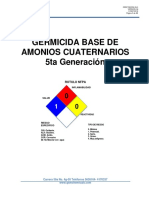 1. GERMICIDA BASE DE AMONIO CUATERNARIO 5a Generación.v4