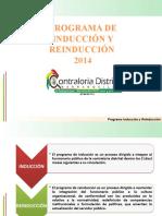 PRESENTACIÓN REINDUCCIÓN 2014