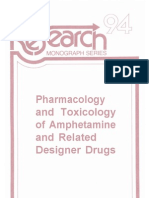 Chemistry - Pharmacology And Toxicology Of Methamphetamine And Related Designer Drugs