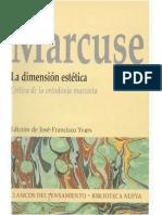 Marcuse Herbert - La Dimension Estetica.pdf
