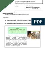Tecnología 15 - 6º
