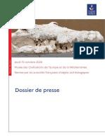 Dossier de presse Remise Objets archeologiques douanes Maroc