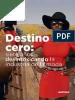 Campaña Detox Greenpeace