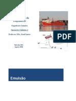 aula1 Curso Total de operações unitárias 1-  EMULSÃO-FLOTAÇÃO-HIDROCICLONE
