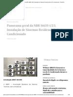 Panorama geral da NBR 16655-1_2_3, Instalação de Sistemas Residenciais de Ar-Condicionado - Portal EA.pdf