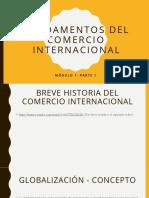 Fundamentos del Comercio Internacional