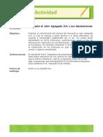 Actividad impuesto al valor agregado y sus declaraciones. ACT 1. (1)