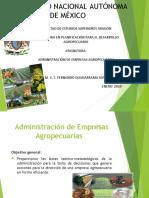 Administración de empresas agropecuarias 2020